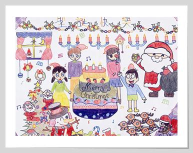 Celebrating Birthday with Santa Claus